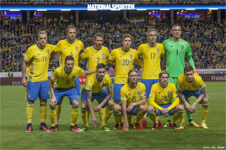 svenska herrlandslaget fotboll